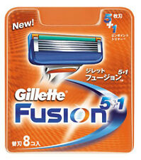 Gillette Fusion Manual Blades 8 Cartridges Refills BRAND NEW SEALED