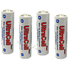 4 pcs Pack Dummy Battery AA Conduct Conductor Electric Current Ultracell plus