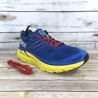 *RIGHT AMPUTEE Hoka One One Clifton 6 Mens Size 9 Athletic Running Gym Blue