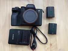 Sony a7R IV 61MP Mirrorless Digital Camera - Body Only - 1510 Shutter Count