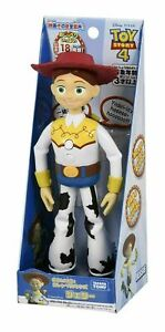 Jessie Talking Action Figure Toy Story 4 17 Japanese Phrases 8 English TOMY