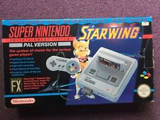 Super Nintendo Entertainment System Star Wing Edition Pack SNES PAL UK SELLER
