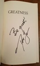 GREATNESS: The 16 Characteristics of True Champions HC Book Signed DON YAEGER