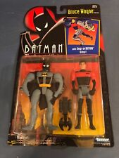 BATMAN THE ANIMATED SERIES BRUCE WAYNE NEW ON CARD KENNER 1992