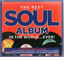 The Best Soul Album In The World...Ever! - Various  (CD 2019) New