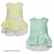 Unbranded Girls' Floral Cotton Blend Dresses (0-24 Months)