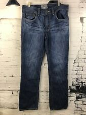 Men's Heritage 1981 Jeans 34 X 33 Factory Distressed Good Condition