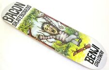 BACON SKATEBOARDS Where The Wild Things Are BENJI GALLOWAY Skateboard Deck