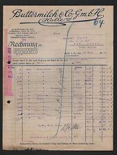 HALLE/SAALE, Rechnung 1924, Buttermilch & Co. GmbH