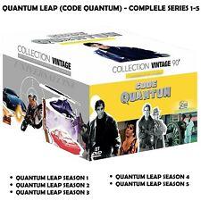 Quantum Leap (Code Quantum) -Season 1-5 Complete 97 Episodes NEW UK REGION 2 DVD