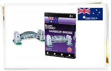 Sydney Harbour Bridge DIY Educational 3d Puzzles Jigsaw Kids Adult 33 Pieces