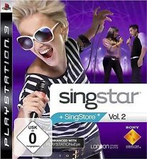 PLAYSTATION 3 SINGSTAR volume 2 * COME NUOVO