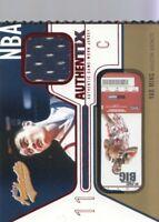 2003-04 Fleer Authentix Jersey #JA-YM Yao Ming Jersey Houston Rockets