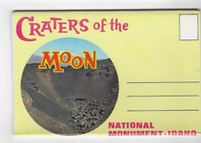 POSTCARD FOLDER-CRATERS OF THE MOON NATIONAL MONUMENT-IDAHO