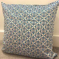 "Blue Moroccan Floral Cushion Cover 16x24/"" 40x60cm Royal"
