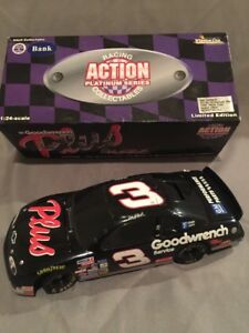 1/24 Diecast Action Dale Earnhardt #3 GM Goodwrench 1997 Monte Carlo NASCAR Bank