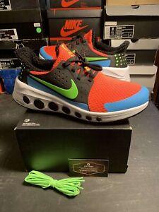 Nike Cruzrone Bright Crimson Electric Green US Men's 9  *NO LID* (CD7307-600)