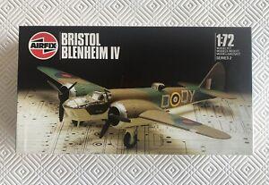 Vintage Airfix Bristol Blenheim IV, Series 2, 1:72 scale - opened box