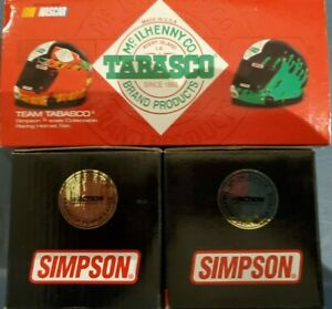 TODD BODINE TEAM 2 TABASCO MINI SIMPSON RACING HELMETS