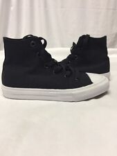 Converse All Star  Chuck Taylor High Top Black Youth  Size 1 Uk13.5 Eur 32...C13