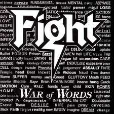 FIGHT : WAR OF WORDS (CD) sealed