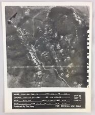 Vintage Vietnam War Navy Aerial Recon Photo 78 Xuan Mai Trk Pk