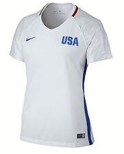 new NIKE women jersey shirt DRI-FIT USA Olympic 739326 soccer white L MSRP$90