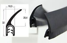 DF5 - 4,40€/m Kantenschutz Kantenschutzprofil mit Dichtung Fahne Dichtungsprofil