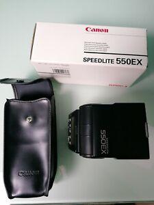 Canon Speedlite 550EX Shoe Mount Flash