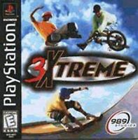 3 Xtreme For PlayStation 1 PS1 2E