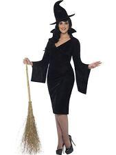 Courbure Costume Sorcière, UK 16-18, Halloween Déguisement Adulte