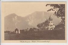 AK Ferlach, Unterbergen, Hotel Karawankenhof, 1911