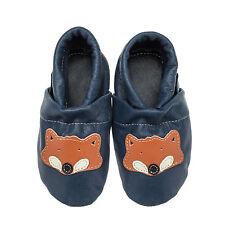 Pantau Kinder Lederpuschen Lauflernschuhe Babyschuhe Krabbelschuhe mit Fuchs