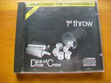!st Throw by Dice of Dixie Crew (CD, In-Akustik) Disc by Sanyo Japan