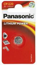1 pila batteria CR1220 CR 1220 DL1220 panasonic 3V Litio 1220 spediz tracciata