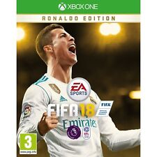 FIFA 18 Ronaldo Edition Xbox One game UK Version