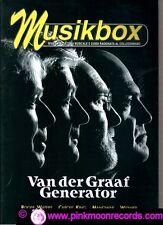 MUSIKBOX  n°23(nuova serie) (88/89) 2005 VAN DER GRAAF GENERATOR ROGER WATERS