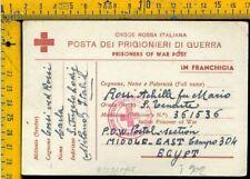 WW 2 Militare Posta Prigionieri Croce Rossa x Sant' Angelo Lodigiano Lodi I 902