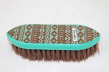 Navajo Pattern Stiff Bristle Grooming Brush