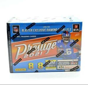 2021 Panini Prestige NFL Football Blaster Box - 8 Packs of 8 Cards  - Sealed New