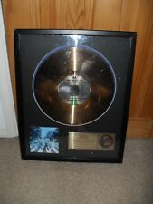 The Beatles Abbey Road gold disc limited edition