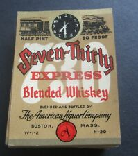 WHISKEY LABELS Boston Mass. Highland Spring Lot of 100 Old Vintage 1940/'s
