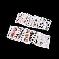 Set 50X Nail Art Sticker Water Transfer Stickers Decoration Human-Decals Tip fw