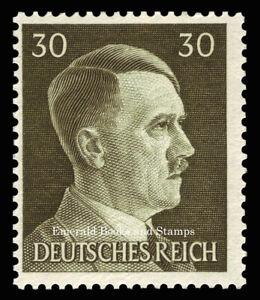 EBS Germany 1941 - Hitler Head - 30 Pfennig - Hitlerkopf - Michel 794 MNH**
