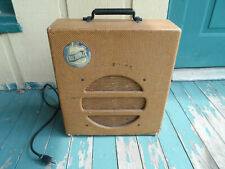 1940 National Dobro Corp Model 75 Vintage Tube Guitar Amplifier Tweed 1x12, 6L6