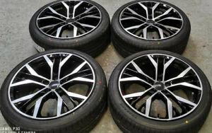 """18"""" Golf Santiago Style Alloy Wheels+tyres fits VW Caddy 2k (x4)"""
