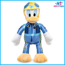 """Disney Donald Duck 8 3/4"""" Plush Doll - Mickey and the Roadster Racers Series"""