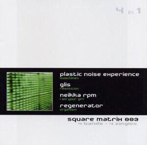 SQUARE MATRIX 3 CD 2003 Glis PLASTIC NOISE EXPERIENCE Neikka RPM
