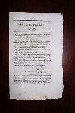✒ 1857 BULLETIN DES LOIS  n°468 émission Bon du Trésor Ministère Finances