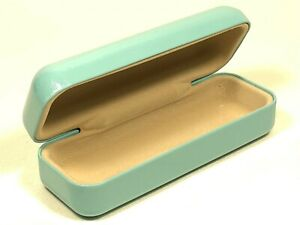 Authentic Tiffany & Co. Blue Hard Side Clamshell Protective Eyeglasses Case